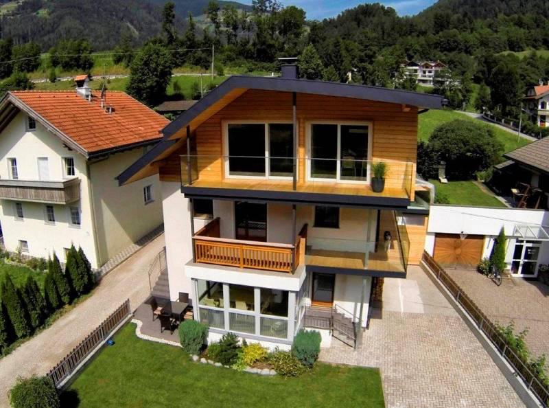 Facciate case rustiche pittura pareti case moderne - Facciate case moderne ...