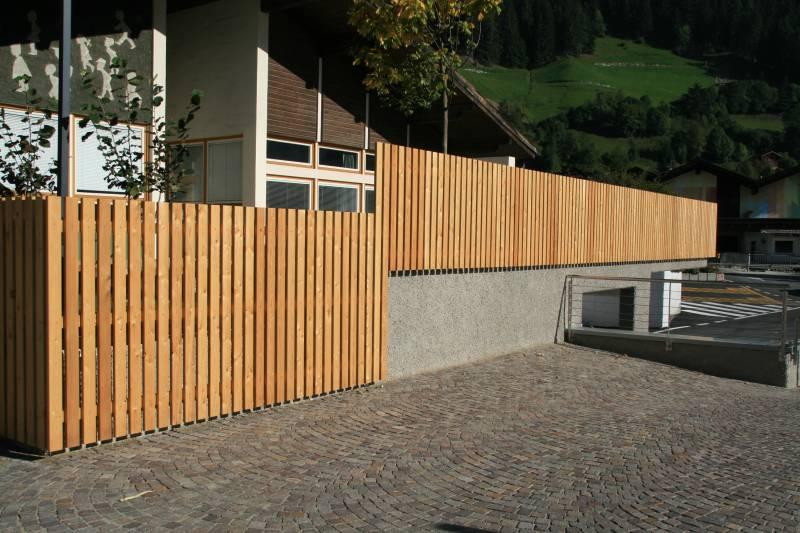 Recinzioni terrazze e altro for Casa in stile scandole